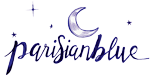 logo parisian blue